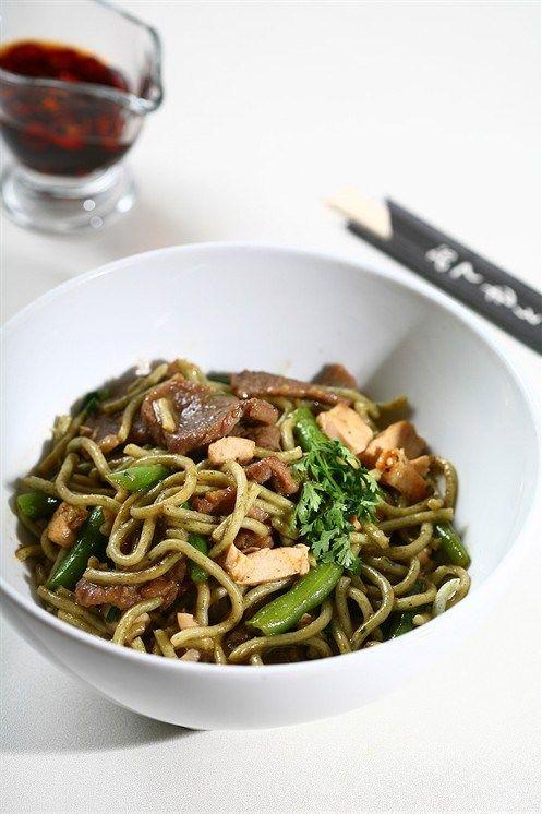 Жареные овощи с грибами, кунжутным маслом и соевым соусом рецепт с фото