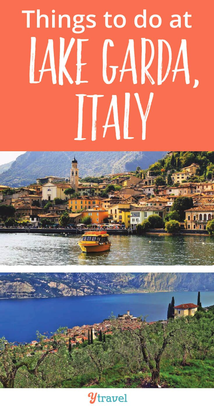 Things to do at Lake Garda, Itlay including what to see and do, where to eat, where to stay, and much more! #Italy #Europe #familytravel