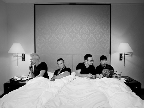 U2 > News > 'Due To Overwhelming Demand...' Ok I love U2, not sure what they are doing in bed together :)