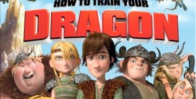 """Watching """"How To Train Your Dragon 1"""" An Animated Movie :)"""