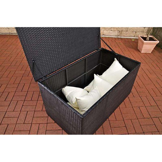 Clp Auflagenbox Kissenbox Poly Rattan Alu Gestell Bis Zu 5 Farben 3 Grosse Wahlbar Gunstig Online Kaufen Plus De Kissenbox Kissen Aufbewahrungsbox