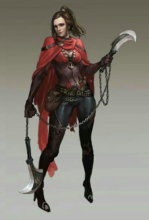 Female Human Inquisitor - Pathfinder PFRPG DND D&D d20 fantasy