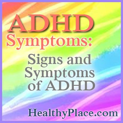 sign of adult adhd