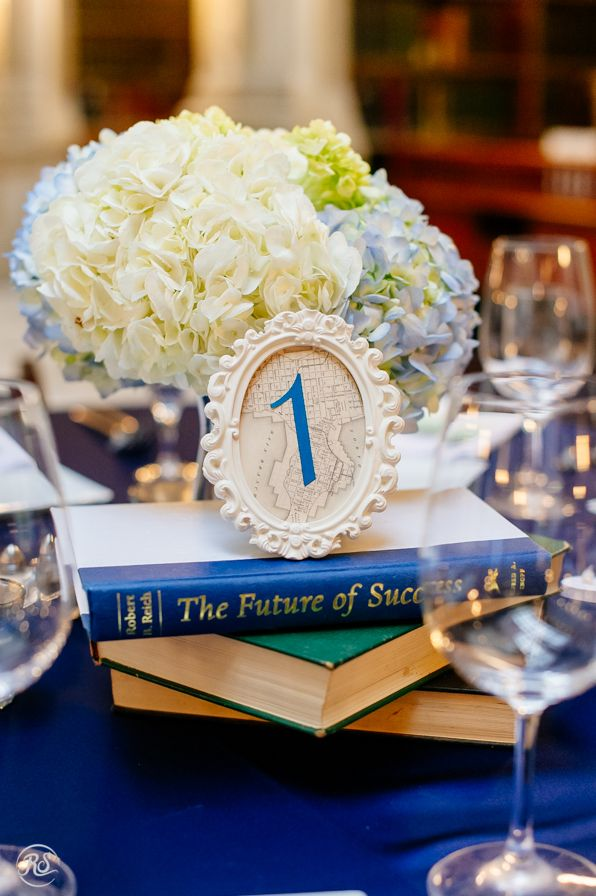 George Peabody Library Wedding Centerpieces  George Peabody Library Historic Wedding Venue Baltimore Maryland http://peabodyevents.library.jhu.edu/