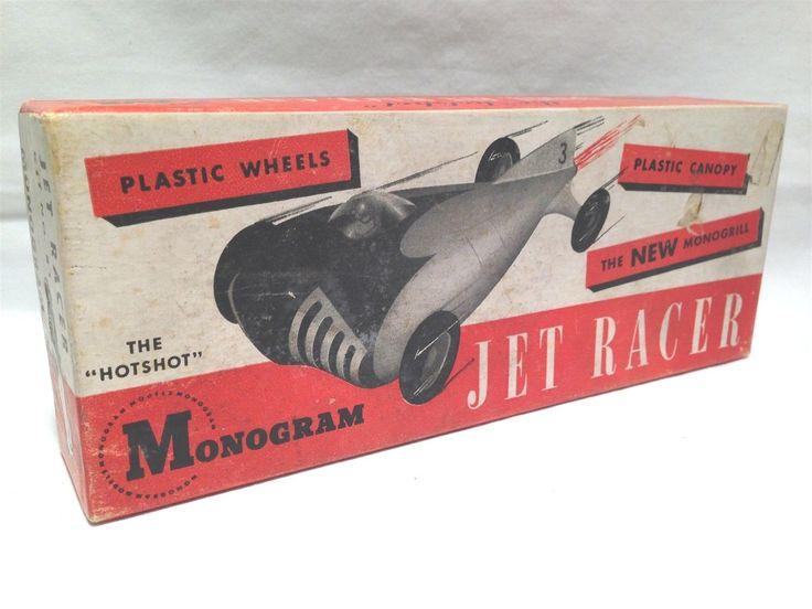 Monogram hot shot midget racer-8122