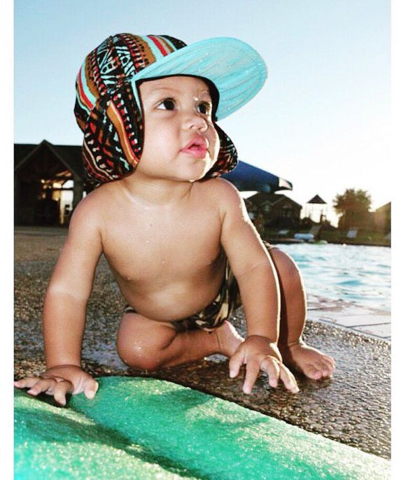 Baby & Toddler Sun Hat / Kids Sun Hat / TRIBAL by GeorgeHats