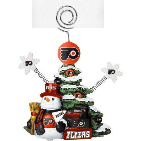 Topperscot by Boelter Brands NHL Tree Photo Holder, Philadelphia Flyers, Green