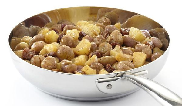 Poêlée marron, pomme, figue