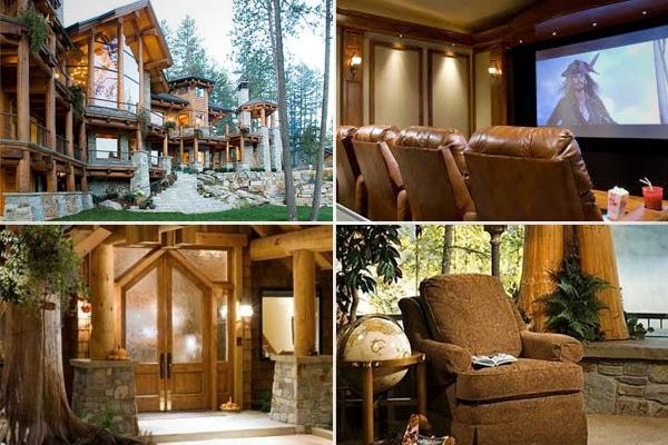 Luxurious Log Cabins - CNBCDecor, Cabin Ideas, House Ideas, Dreams Cabin, Cabin Luxury, Log Cabins, Luxury Logs, Logs House, Logs Cabin