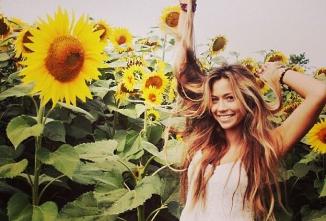 I want to take a picture in a field of Sunflowers!