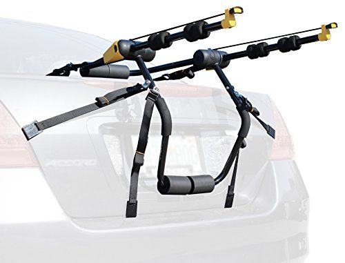 Kova Gear Trunk Mounted Bike Rack w 2 Spaces  Universal Fit for Cars SUVs  Minivans ** Click image to review more details.