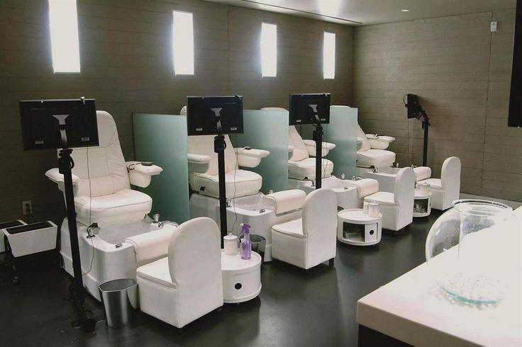 Nail Salon  Manicure Pedicure Stations  Delano las vegas Salons Las vegas hotels