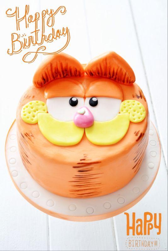Pink Sugar: Garfield Torte