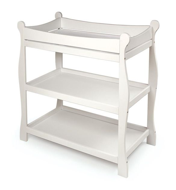 NEW Changing Tables Available At NineMonthsofStyle.com! $129.99   Cute  Baskets To Add To · Baby Changing TablesWhite ...