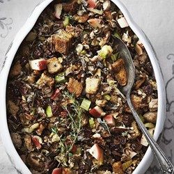 Wild Rice Stuffing with Apple & Sausage  - EatingWell.com