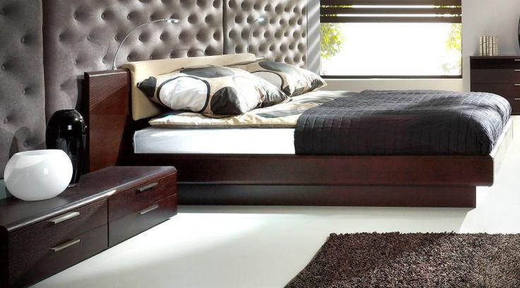 lit adulte en bois 2 places chambre coucher haut de gamme lit double adulte home. Black Bedroom Furniture Sets. Home Design Ideas