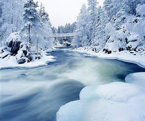 My favorite landscape from Oulankajoki, Kuusamo.