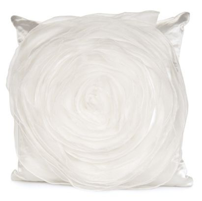 Get a little glamour in your life with this satin cushion #ParisSouvenirs #Applique
