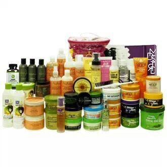 So Many Hair Products For Natural Hair African American