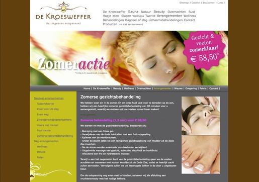 Website De Kroesweffer: www.dekroesweffer.com