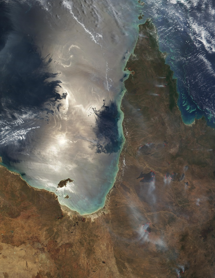 cape york peninsula from space