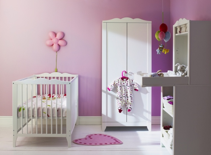 Make her room as sweet as she is with the HENSVIK collection. --- simple but adorable.