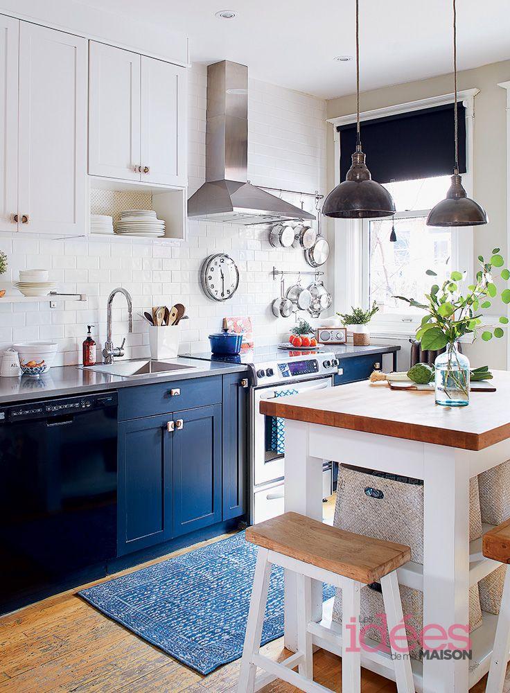 Une maison styl e les id es de ma maison photo tva for Artsy kitchen ideas