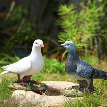 Spaleau™  Pigeon Ornaments (coupon code 3offpin) #gardening #outdoor #craft #pigeon