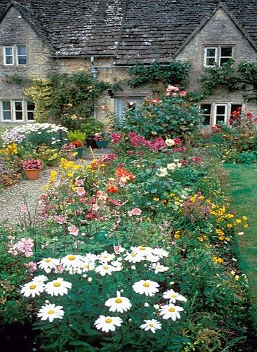 I love the wild, colorful beauty of an English-style garden / Magic Garden <3