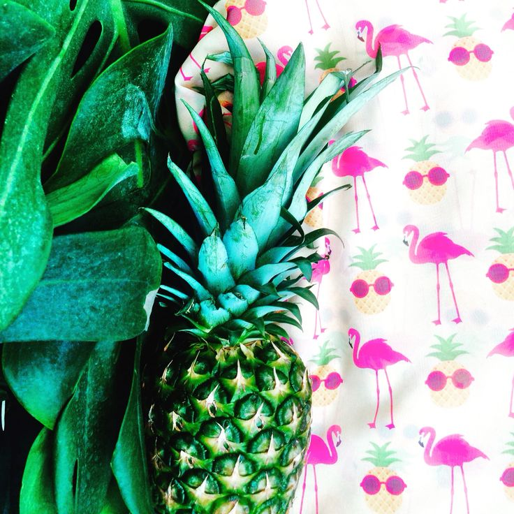 #AwoA#unique#fashion#flamingos#pineapple#handmade#fabric#clothing#ss2015#collection