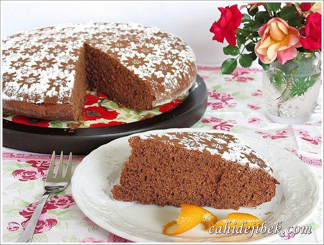 Çikolatalı Pamuk Kek Tarifi