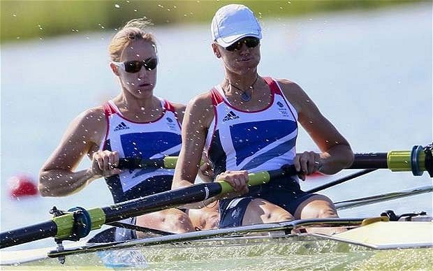 Great Britain's women's rowing team