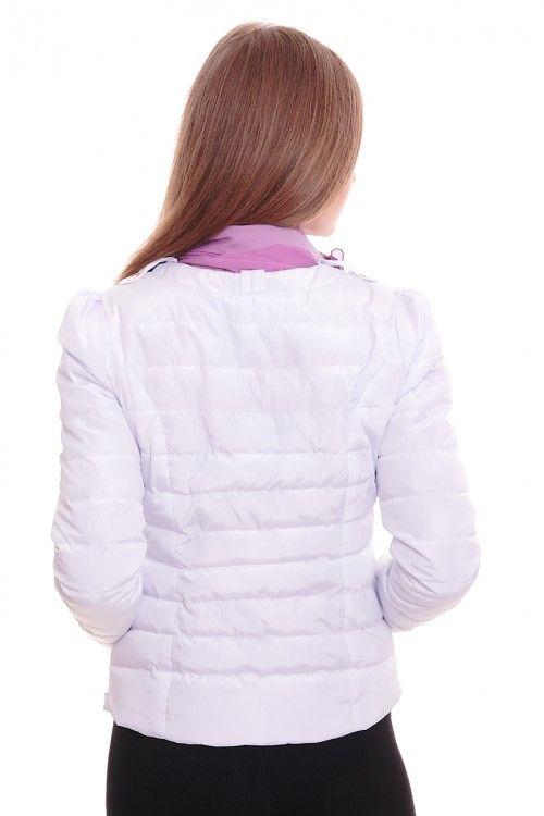 Куртка А5297 Размеры: 42-50 Цвет: белый Цена: 1875 руб.  http://optom24.ru/kurtka-a5297/  #одежда #женщинам #куртки #оптом24
