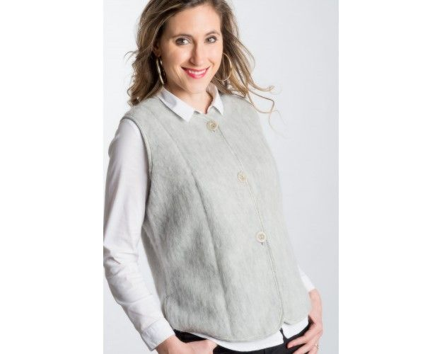 Veste femme laine des pyrenees
