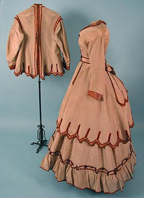 4 Piece Traveling Dress, c. 1870 October 24, 2004 - Session 2 Lot 446 - $500.00