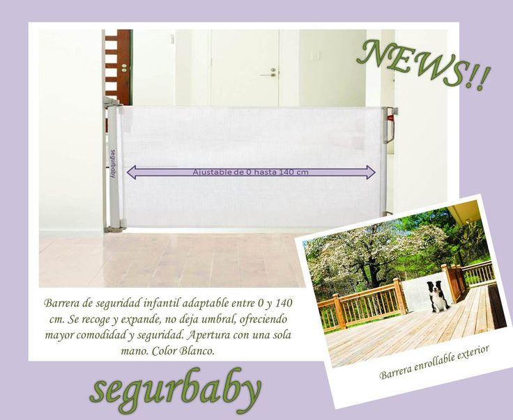 29 best barreras para puertas y escaleras images on pinterest - Barreras seguridad escaleras ...