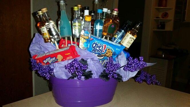 Alcohol gift basket                                                       …