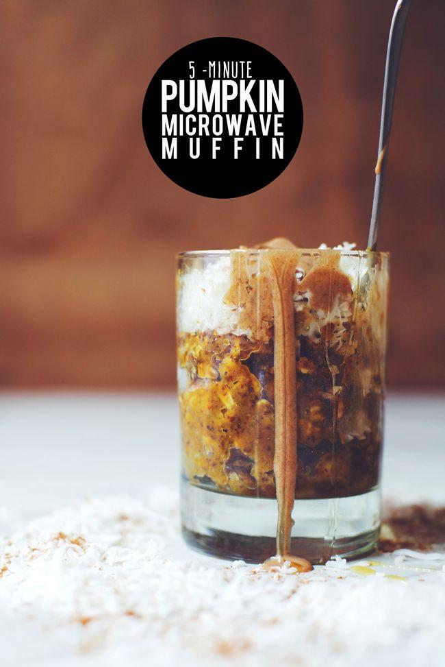 5-Min Pumpkin Microwave Muffin