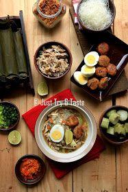 resep cara membuat soto banjar asli yang mudah dan enak