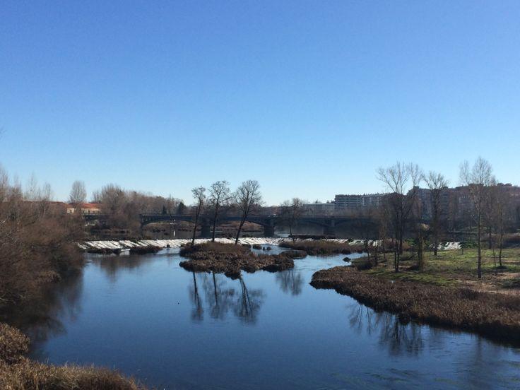 Salamanca's river