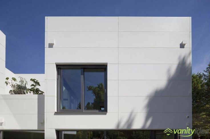 white and grey facades along with a modern design