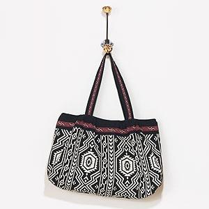 Loving this bag via World Market $35