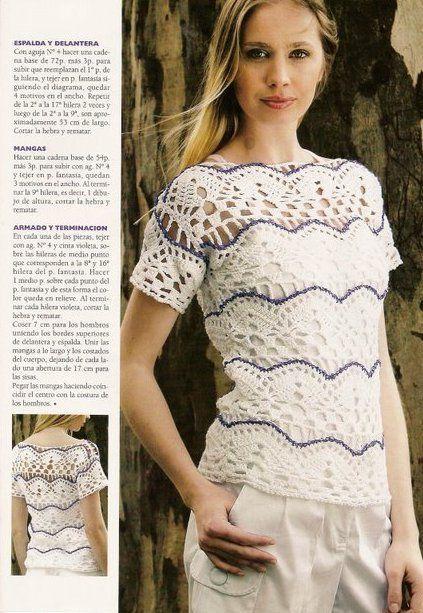 bb393f1f545 CROCHET BLOUSE — Crochet by Yana