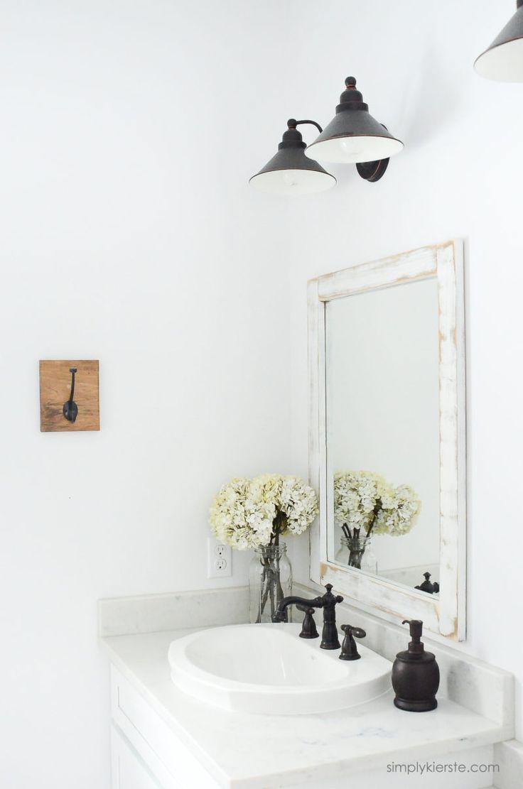 100 Diy Bathroom Mirror Frame Update 38