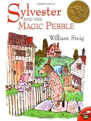 Sylvester and the Magic Pebble by William Steig. 1970 Winner