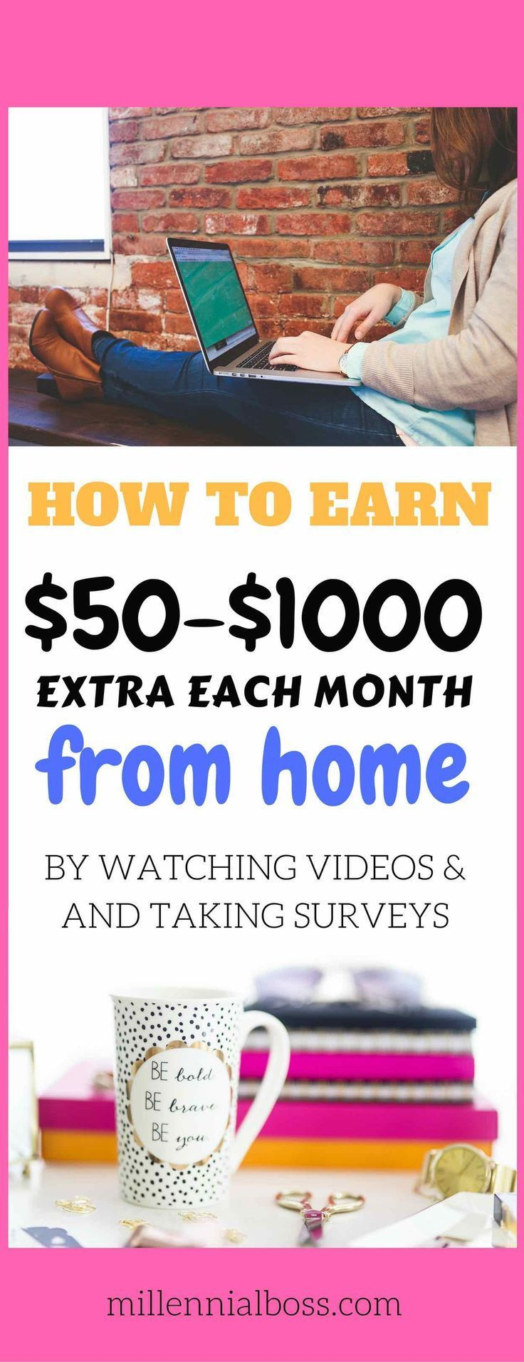 Make extra money this month | Surveys that pay cash | work from home mom jobs