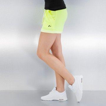 Only Pantalón cortos amarillo