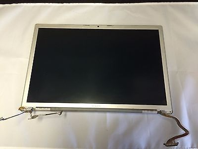 """Nice Genuine Apple MacBook Pro A1260 15"""" Complete LED LCD Screen Assembly"""