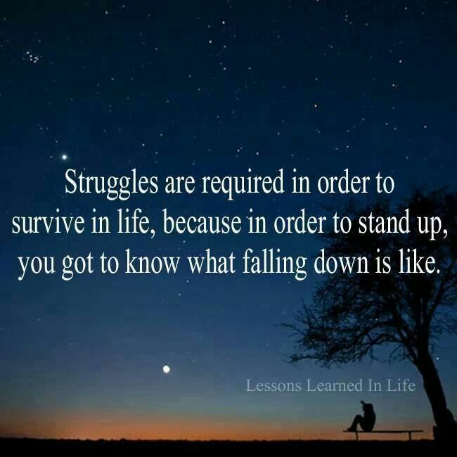 Inspirational Quotes About Life Struggles: Struggle To Rewards