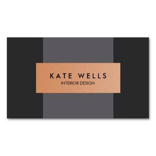 The 25 best cheap business cards ideas on pinterest creative modern copper and dark purple color block designer business card reheart Choice Image
